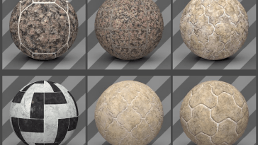 Cinema 4D Floor Textures 02