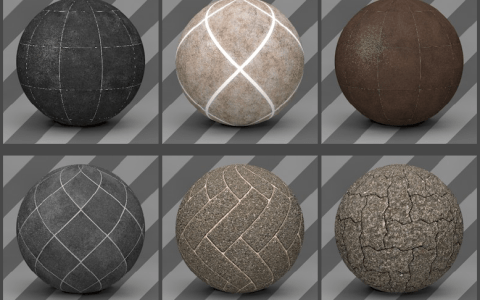 Cinema 4D Floor Textures 06