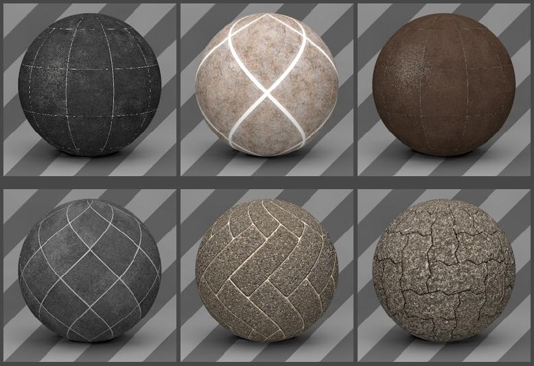 Cinema 4D Floor Textures 06