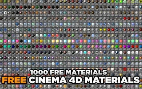 Fabric Materials Pack - Free Cinema 4D Textures