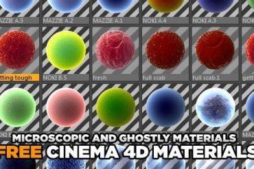organic cinema 4d materials