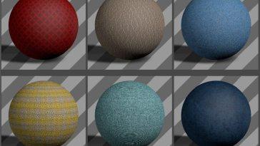 Fabric Textures 05 - Free Cinema 4D Textures