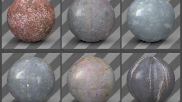 free cinema 4d textures - metal textures 04