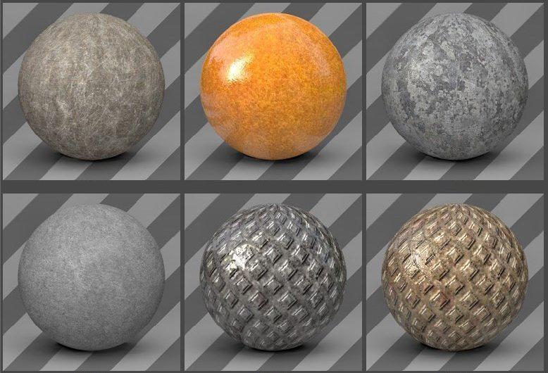 free cinema 4d textures -metal textures 07