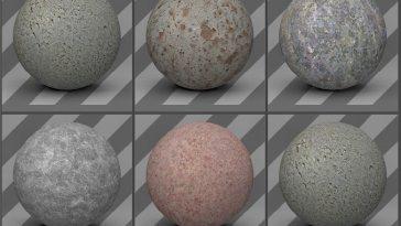 Metal Textures 01 - Free Cinema 4D Textures