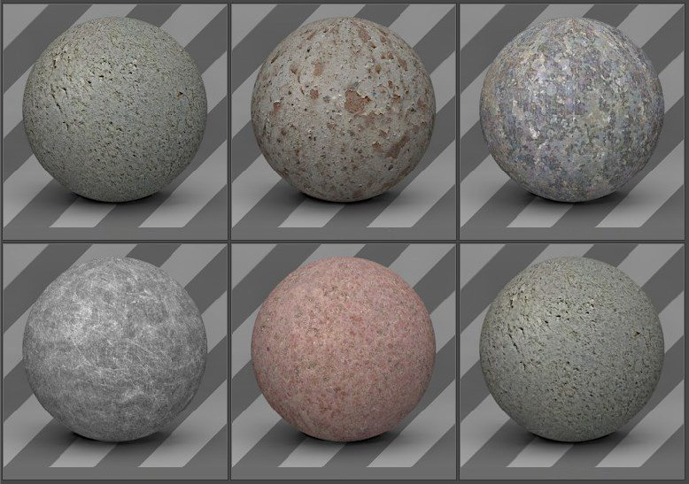 free cinema 4d textures - metal textures 09