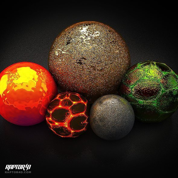 free cinema 4d shader pack v2