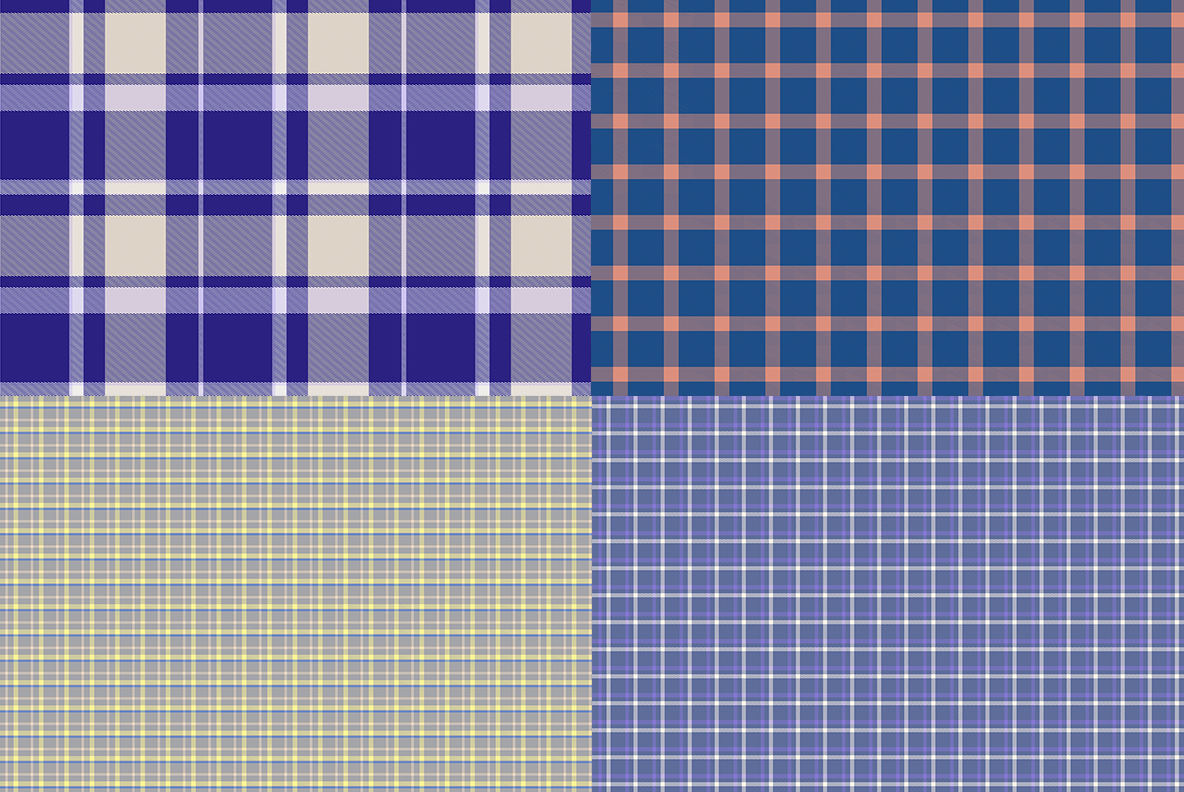 Scottish Tartan Textures Preview Set