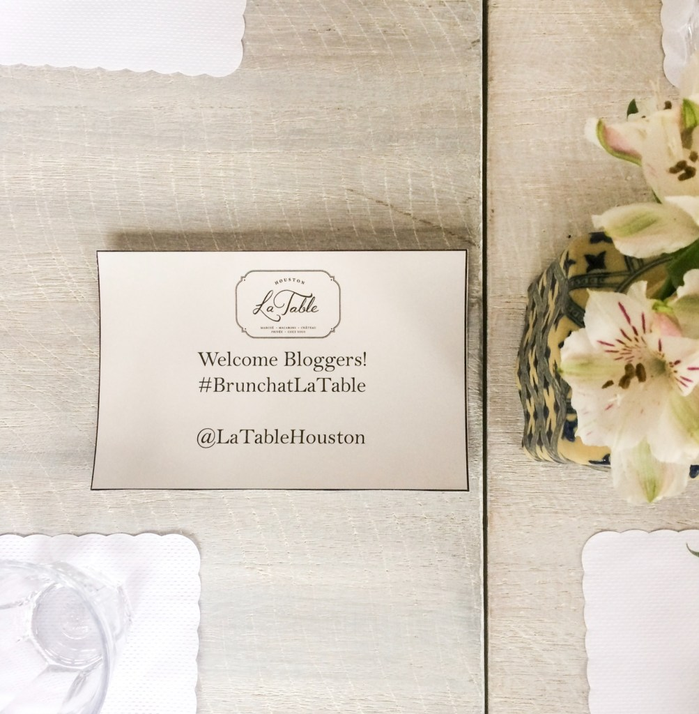 A Lovely Brunch At La Table Houston Floral Wrap Maxi Dress Lovly Sqaa Blogger Welcome Sign