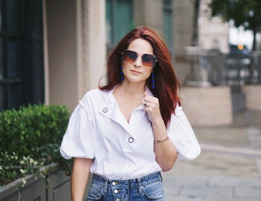 quay, big sunglasses, dramatic sleeves, red hair inspiration, spring style