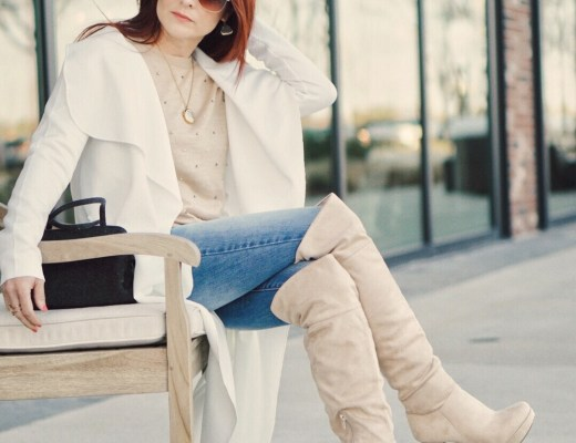 otk boots, over the knee boot outfits, duster coats, red hair inspiration