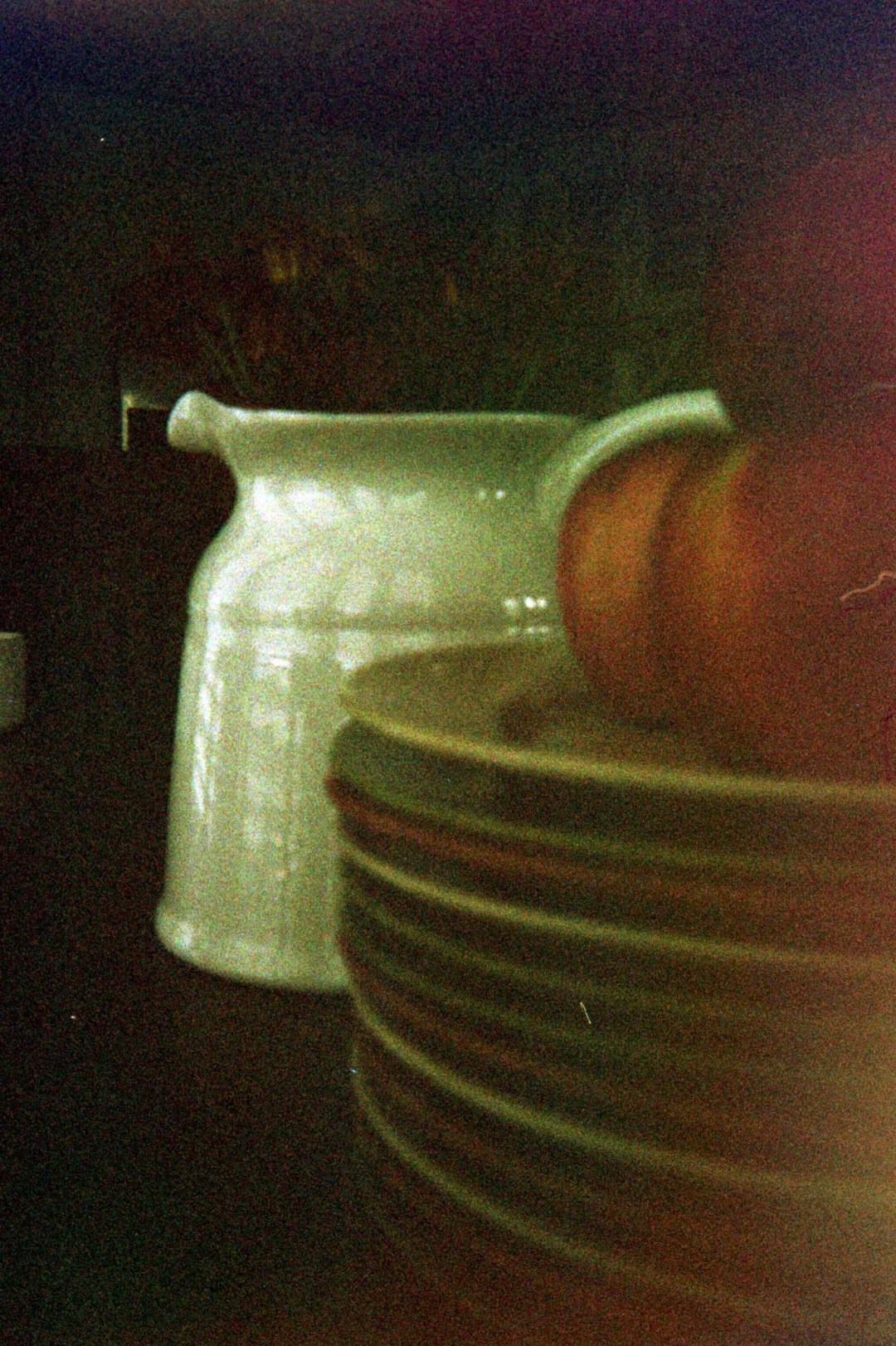 moody film photography, disposable camera, no filter images, unedited photos, fall breakfast table