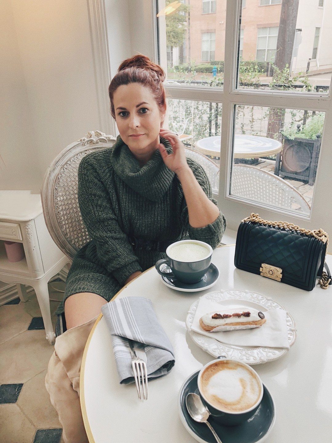 brunch french style, outfit ideas for brunch, chic outfits, high bun inspiration, hair up-do's