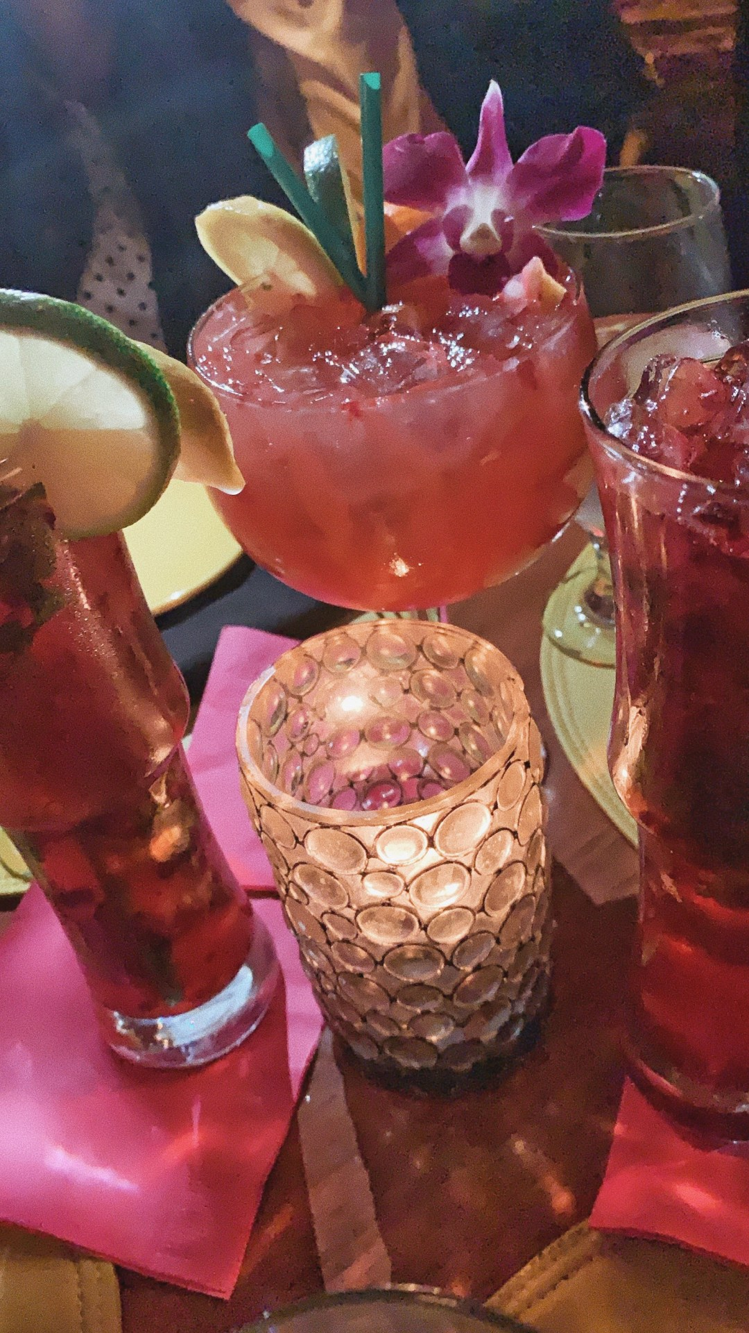 coctails, girls road trip, The Tropicale Bar and Lounge, places to eat in Palm Springs