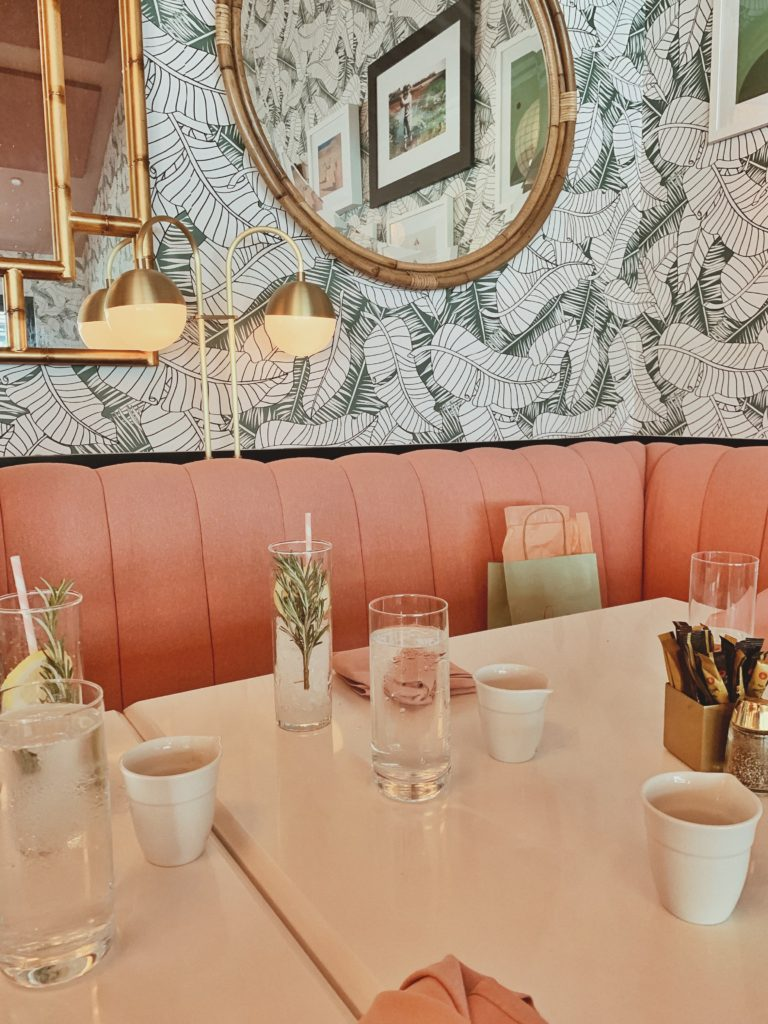 brunch ideas in California, Instagram worthy places to eat near Palm Springs, places to eat near Palm Springs, the Pink Cabana