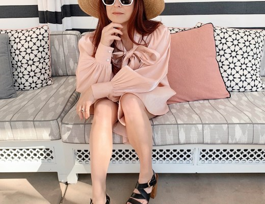 resort attire, what to wear to brunch, pink satin dress outfits
