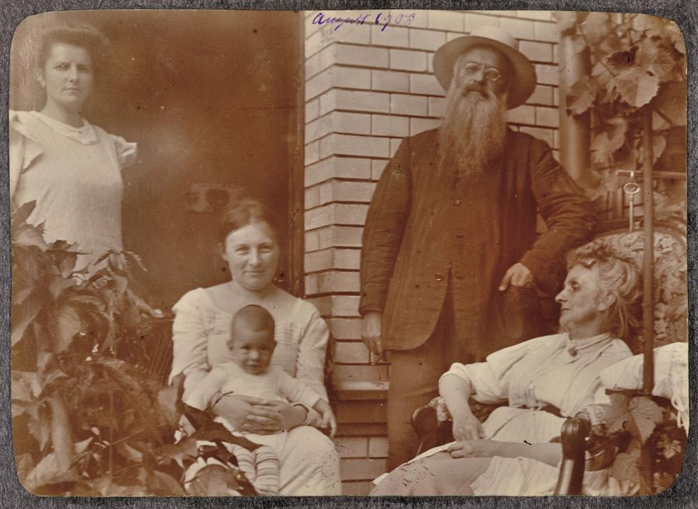 Paul Klee Baby 1908