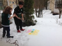 Colored Snow