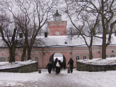 Eingang / Ausgang Suomenlinna