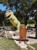 T-Rex bei Cascade Falls (gespendet für Drehaufnahmen)