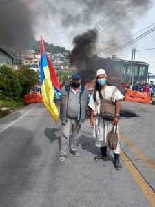 Arhuacos fighting for Indigenous Rights