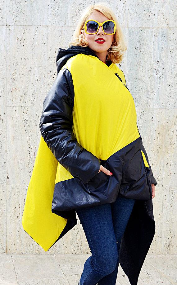 extravagant yellow coat