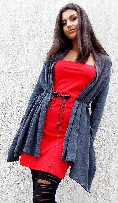 acrylic cardigan