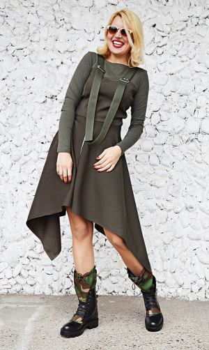 army khaki dress