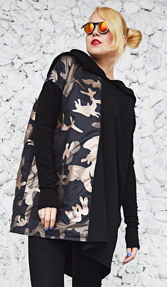camo hooded sweatshirt