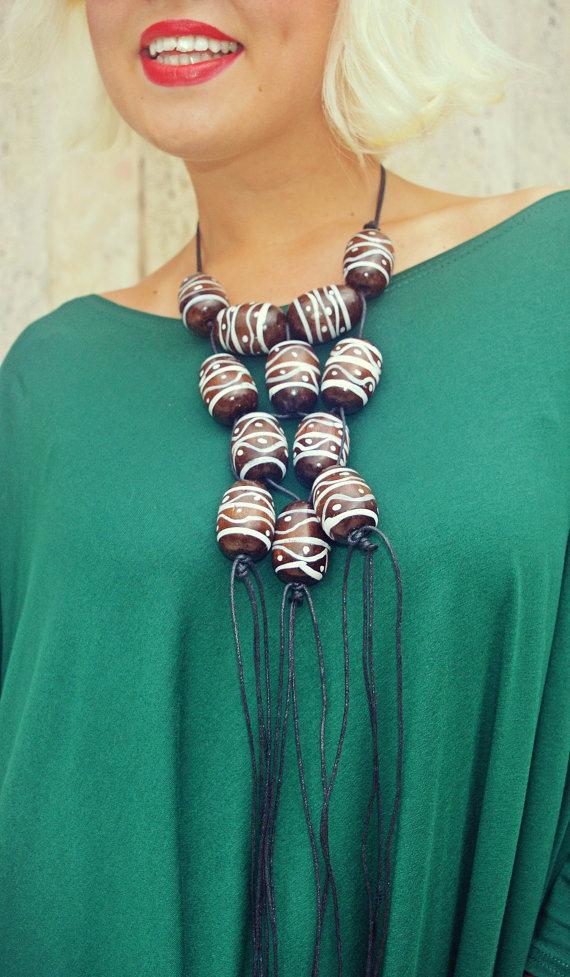 boho necklace