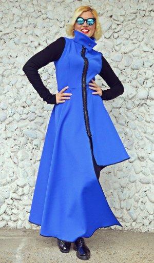 blue neoprene jacket