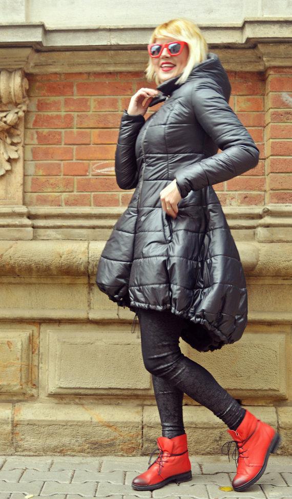 winter hooded jacket