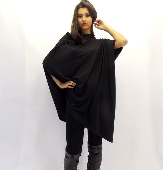 black loose tunic