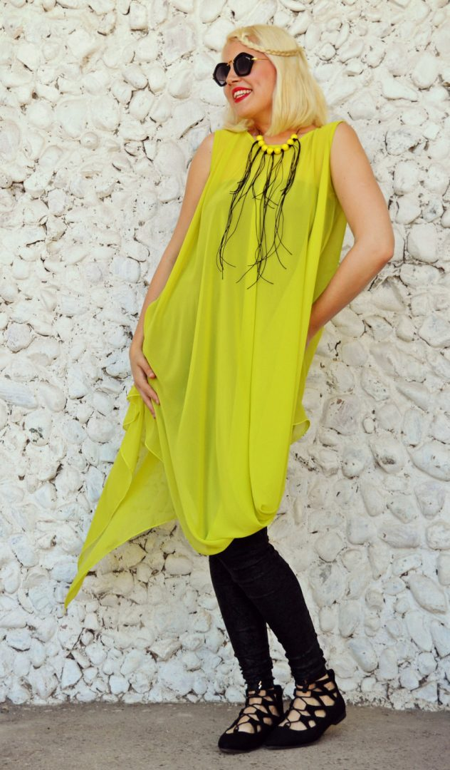 yellow mustard summer top