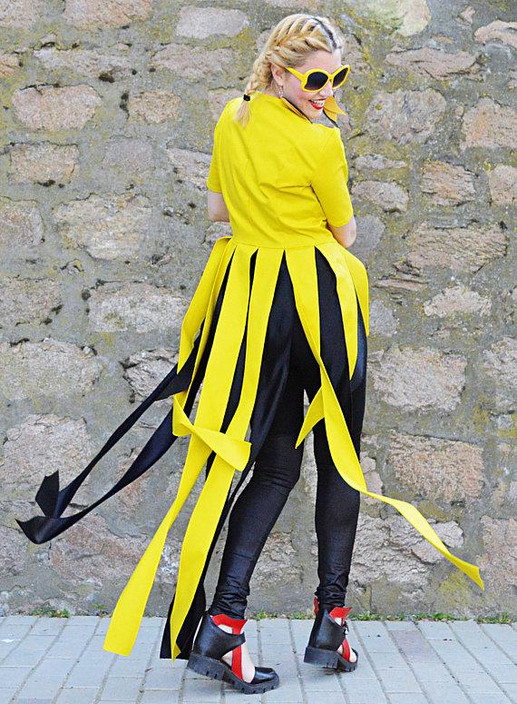 yellow fringes