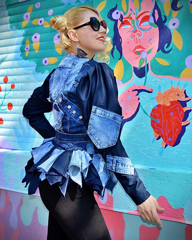 Harajuku fashion jacket