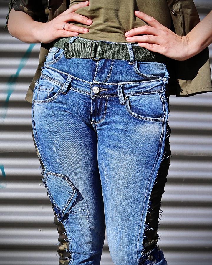 denim pants women