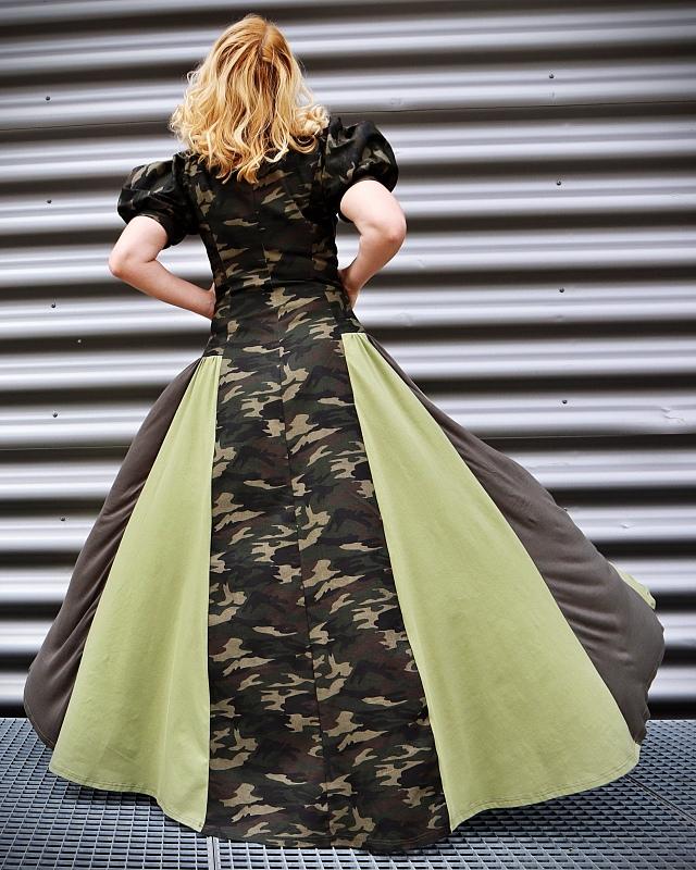 online military dress