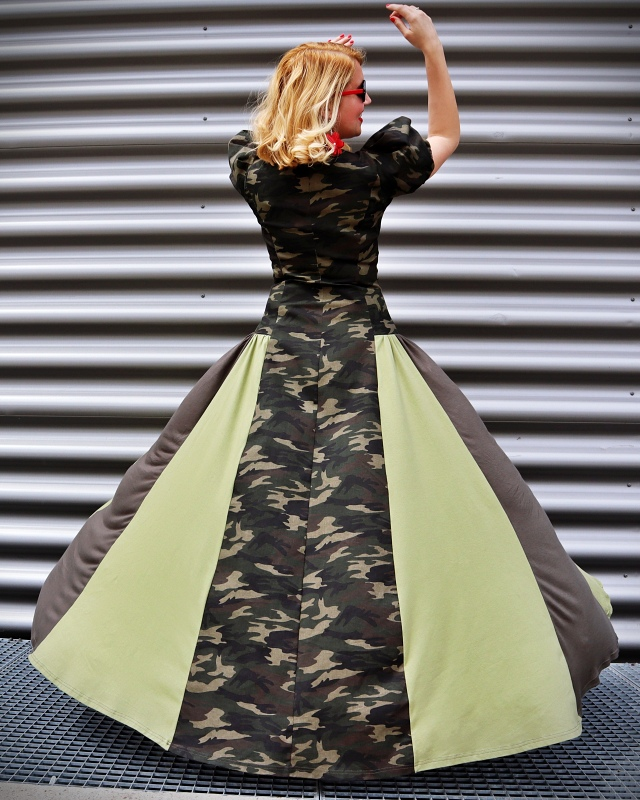 long military dress