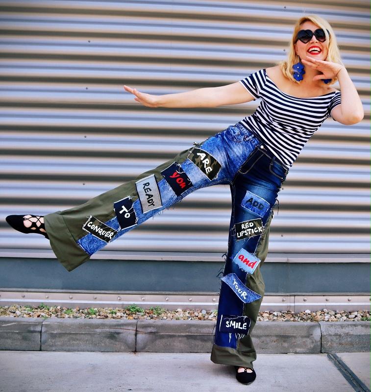 cool prints pants
