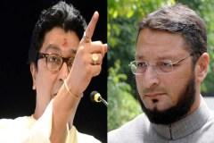 असदुद्दीन ओवैसी को राज ठाकरे का खुला चैलेंज