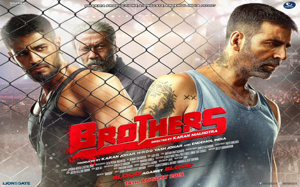 First Look Akshay Kumar Brothers