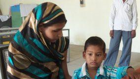 मासूम राहुल ने कहा मारते है माँ बाप