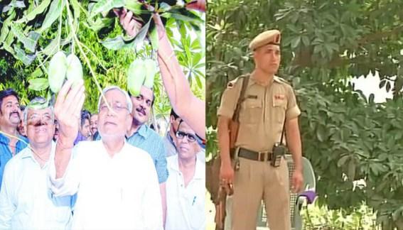 Jitan Ram Manjhi, Nitish Kumar litchi