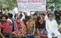 पत्रकार जगेंद्र का परिवार भूख हड़ताल पर