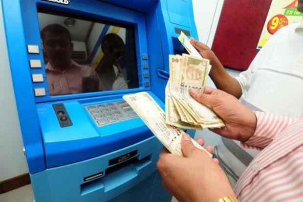 ATM rupees