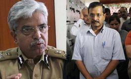 केजरीवाल और दिल्ली पुलिस चीफ में ठनी