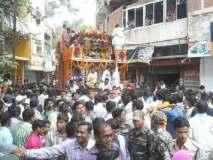 भगवान जगन्नाथ की रथयात्रा में उमड़े श्रद्धालु