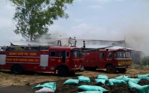 patkha factory blast case in harda