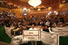 जम्मू-कश्मीर विधानसभा में बीफ बैन पर हंगामा !